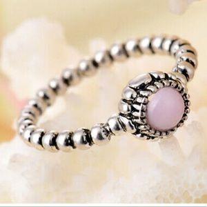 925 Silver w/ Lilac Topaz Stone 💎
